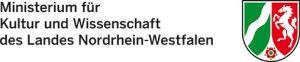 """Logo """"Ministerium für Kultur und Wissenschaft des Landes NRW"""""""