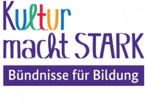 "Logo ""Kultur macht stark"""