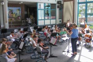 Vororchester / Musikschultag in Olfen