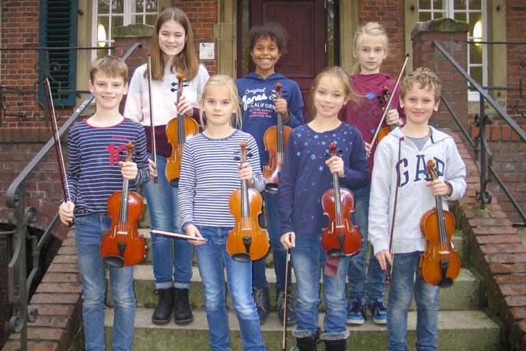 Vororchester Streicher