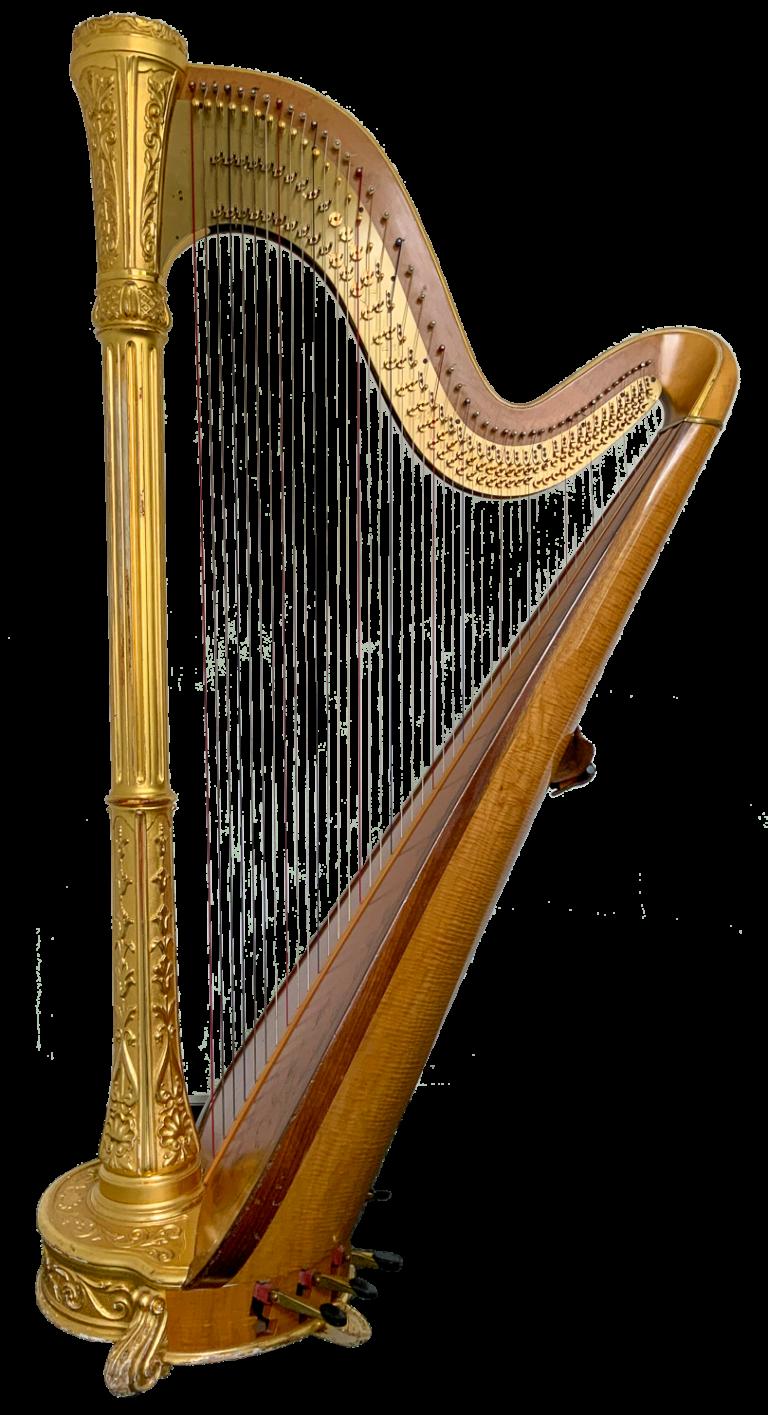 Die Konzertharfe