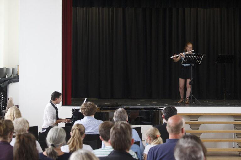 Musizierende im 2. Konzert