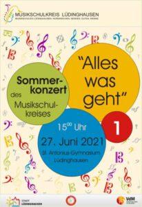 """""""Alles was geht"""" - Sommerkonzert des Musikschulkreises Teil 1 @ Aula St. Antonius-Gymnasium Lüdinghausen"""