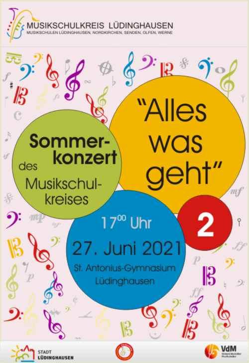 Plakat Sommerkonzert Teil 2