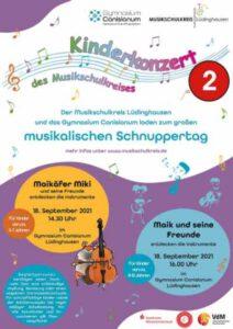 """Kinderkonzert """"Maik und seine Freunde entdecken die Instrumente"""" (für Kinder von 8-12 Jahren) @ Aula Canisianum Lüdinghausen"""
