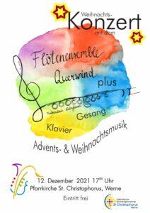 """Weihnachtskonzert """"Querwind plus"""" @ St. Christophoruskirche"""